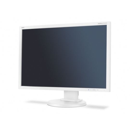 "NEC MT 24"" LCD MuSy E245WMi W W-LED IPS,1920x1200/60Hz,6ms,1000:1,250cd,audio,DVI-D+DP+D-sub,16:10"