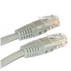 Patch kabel Cat5E, UTP - 20m, šedý