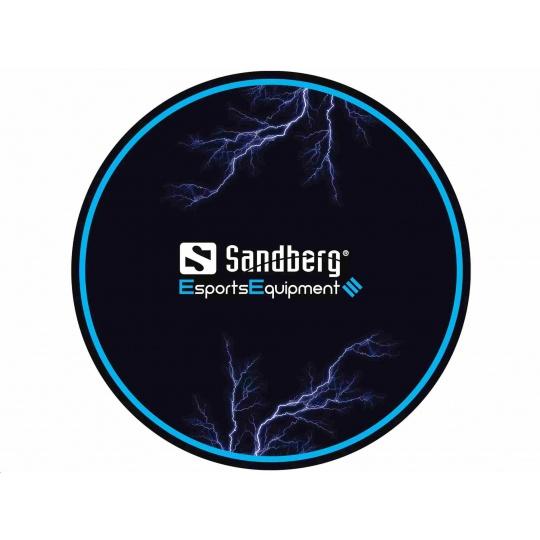 Sandberg podložka pod herní křeslo, černá