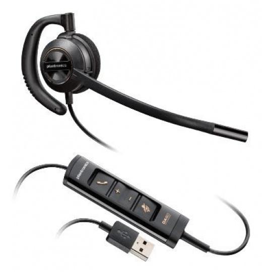 PLANTRONICS náhlavní souprava EncorePro HW535, USB, mono