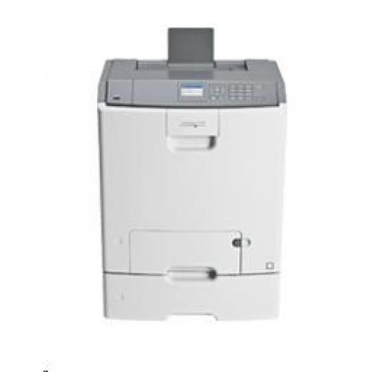 LEXMARK tiskárna C746dtn  A4 COLOR LASER, 512MB, 33ppm USB/LAN, DUPLEX, 2x zásobník papíru